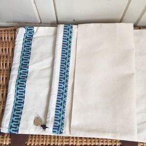Tory Burch Dust Bags -2 Bags, 12by 15 , NWOT